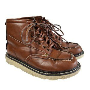 OLD NAVY Light Brown Faux Leather Boots 1